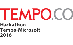 Runner Up Hackathon Tempo-Microsoft 2016